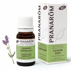 Pranarôm Huile Essentielle Bio Lavande Aspic 10 ml