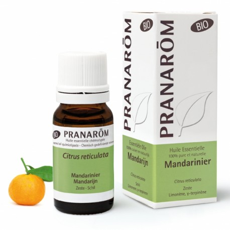 Pranarôm Huile Essentielle Bio Mandarinier 10 ml