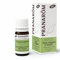 Pranarôm Huile Essentielle Bio Thym Vulgaire à Linalol 5 ml
