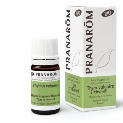 Pranarôm Huile Essentielle Bio Thym Vulgaire à Thymol 5 ml