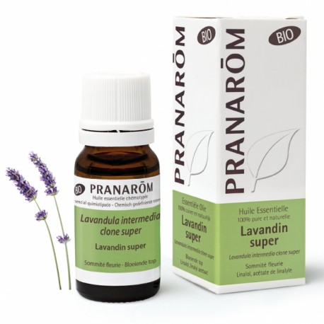 Pranarôm Huile Essentielle Bio Lavandin Super 10 ml