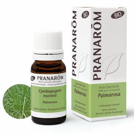 Pranarôm Huile Essentielle Bio Palmarosa 10 ml