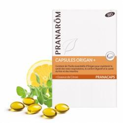 Pranarôm Pranacaps Origan + Bio 30 capsules