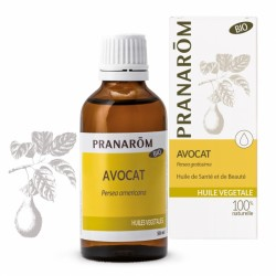 Pranarôm Huile Végétale Bio Avocat 50 ml