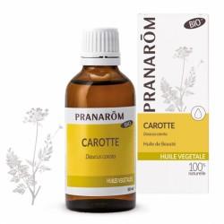 Pranarôm Huile végétale Bio Carotte 50 ml