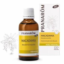 Pranarôm Huile Végétale Bio Macadamia 50 ml