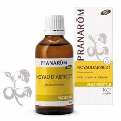 Pranarôm Huile Végétale Bio Noyau d'abricot 50 ml