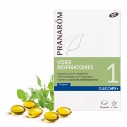 Pranarôm Oléocaps+ 1 Voies respiratoires 30 capsules