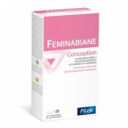 Pileje Feminabiane Conception 30 comprimés et 30 capsules