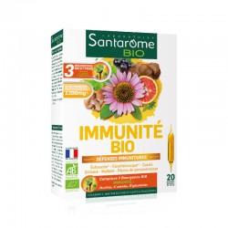 Santarome Immunité Bio Défenses immunitaires 20 ampoules
