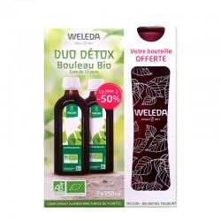 Weleda Duo Détox Jus de bouleau bio 2x250 ml