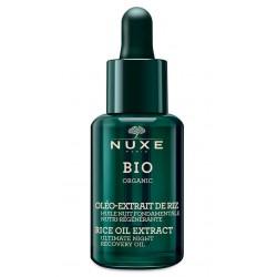 Nuxe Bio Huile Nuit Fondamentale Nutri-régénérante flacon 30ml