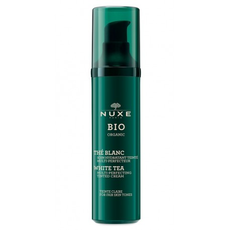 Nuxe Bio Soin Hydratant Teinté Multi-perfecteur - teinte claire flacon 50ml