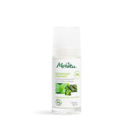 Melvita Déodorant efficacité 24h flacon verre 50ml
