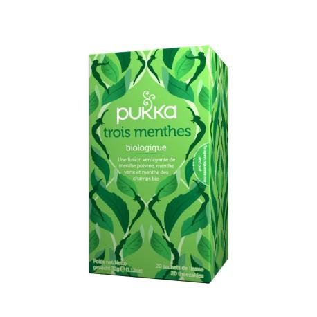 Pukka infusion Bio Trois menthes 20 sachets