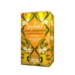 Pukka infusion Bio Camomille, Vanille et Miel de Manuka 20 sachets