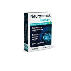 3C Pharma Neurogenius Etudiant 30 comprimés