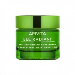 Apivita Bee Radiant Gel-Baume Nuit Lissant et Régénérant pot 50ml