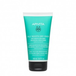 Apivita Après-shampoing pour Racines Grasses et Pointes Sèches tube 150ml