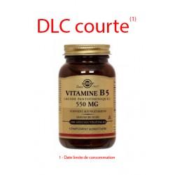 Solgar Vitamine B5 (Acide Pantothénique) 50 gélules