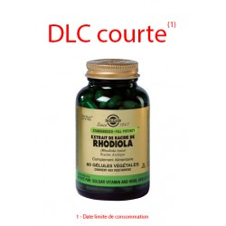 Solgar Extrait de racines de Rhodiola SFP 60 gélules végétales