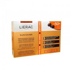 Lierac Sunissime capsules bronzage lot de 2 boites de 30 capsules