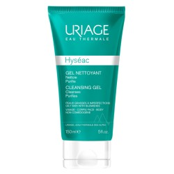 Uriage Hyséac Gel nettoyant tube 150mL