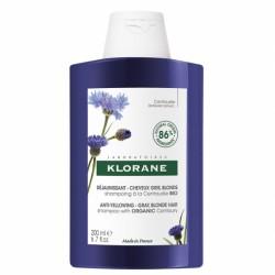 Klorane Shampoing Déjaunissant Cheveux Gris Blond 200mL