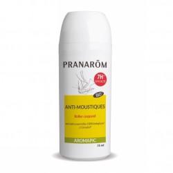 Pranarôm Aromapic Bio Roller Anti-moustique Lotion corporelle 75 ml