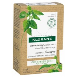 Klorane Shampoing Masque 2 en 1 à l'Ortie BIO 8 Sachets de 3g