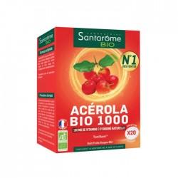 Santarome Acérola Bio 1000 - 20 comprimés