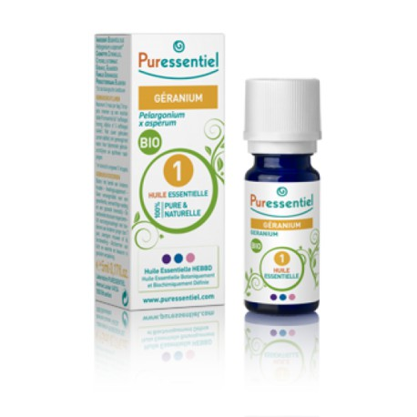 Puressentiel huile essentielle géranium bio 5 ml