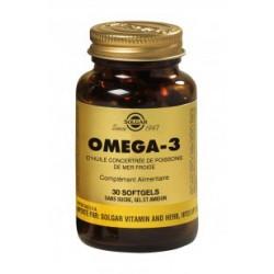 Solgar Oméga 3 - 30 sofgels