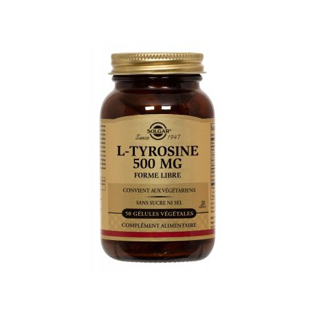Solgar L-Thyrosine 500 mg