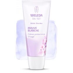 Weleda Bébé Derma Mauve Blanche Crème protectrice visage
