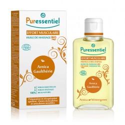 Puressentiel Huile de massage Arnica bio Effort Musculaire 100 ml