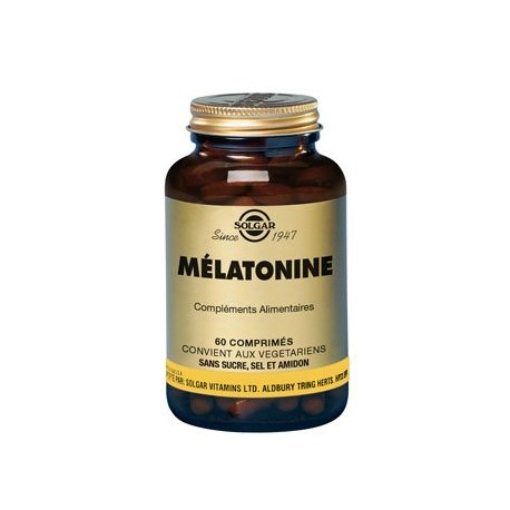 Solgar Mélatonine 1mg 60 comprimés