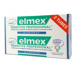Elmex Dentifrice Sensitive Professional Blancheur 2x75ml