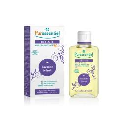 Puressentiel Huile de massage Détente BIO 100 ml