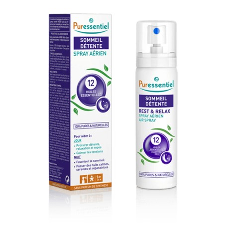 Puressentiel Sommeil Spray aux 12 huiles essentielles 75ml