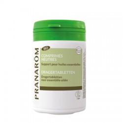 Pranarôm Comprimés Neutres Bio support pour huiles essentielles 30 comprimés