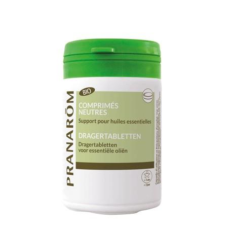 Pranarôm Comprimés Neutres Bio support pour huiles essentielles