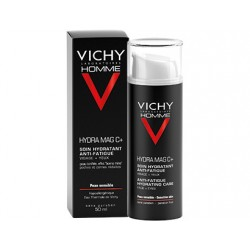 Vichy Homme Hydra Mag C soin hydratant anti-fatigue 50 ml