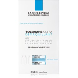 La Roche Posay Tolériane Ultra Démaquillant Yeux 30 dosettes