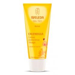 Weleda Bébé Calendula Crème Protectrice Visage 50 ml