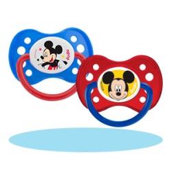 Dodie Sucette + de 6 mois Duo Mickey avec anneau