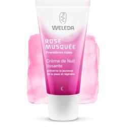 Weleda Rose musquée crème de nuit lissante 30 ml