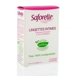 Saforelle Lingettes intime boite de 10 sachets individuels