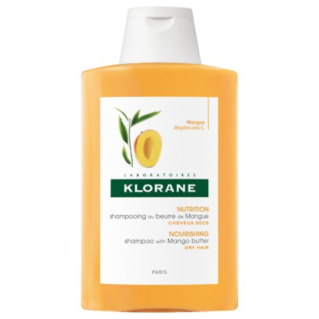 Klorane Shampooing au Beurre de Mangue 200 ml