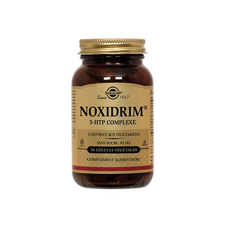 Solgar Noxidrim 5-HTP Complexe 30 gélules végétales